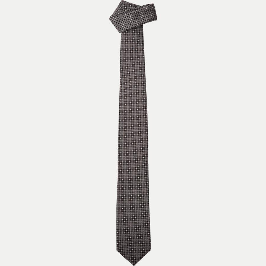 50330175 - Krawatten - LYS RØD - 1